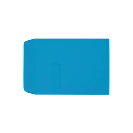 "LUX Open-End Window Envelopes With Peel & Press Closure, #9 1/2, 9"" x 12"", Pool, Pack Of 1,000"