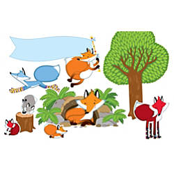 Carson Dellosa Playful Foxes Bulletin Board