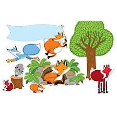 Carson Dellosa Playful Foxes Bulletin Board
