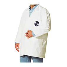 DuPont Tyvek Lab Coats Medium White