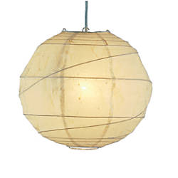Adesso Orb Pendant Ceiling Lamp Large