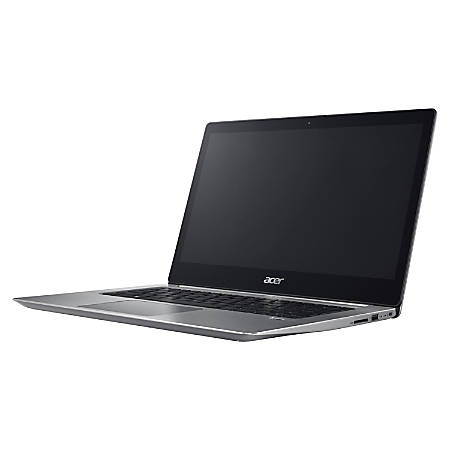 "Acer Swift SF314-52-59A9 14"" LCD Ultrabook - Intel Core i5 i5-8250U Quad-core (4 Core) 1.60 GHz - 8 GB DDR4 SDRAM - 256 GB SSD - Windows 10 Home 64-bit - 1920 x 1080 - In-plane Switching (IPS) Technology - Sparkly Silver"