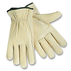 MCR Safety Leather Driver Gloves Large