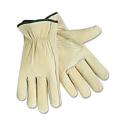 MCR Safety Leather Driver Gloves X