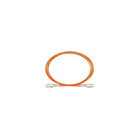 Netpatibles FDAAPAPV2O3M-NP Fiber Optic Duplex Network Cable - 9.84 ft Fiber Optic Network Cable for Network Device - First End: 2 x LC/PC Male Network - Second End: 2 x LC/PC Male Network - 128 MB/s - 62.5/125 µm - Orange
