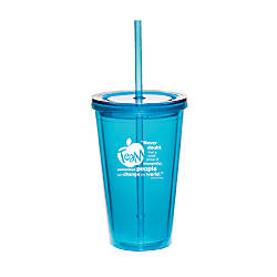 Teamwork Never Doubt Twist Top Tumbler
