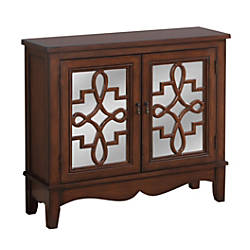 Monarch Specialties Wood Accent Chest 1