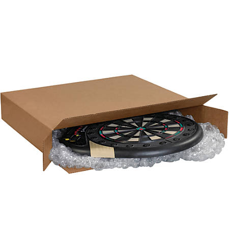 "Office Depot® Brand Side-Loading Boxes, 52""H x 6""W x 28""D, Kraft, Bundle Of 5"
