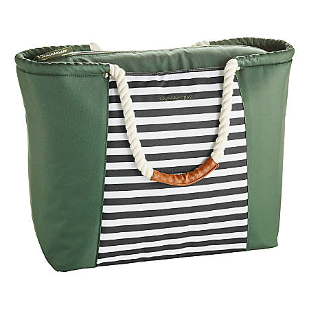 Rachael Ray Boat Tote, Green/Black