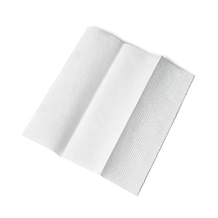 Medline Green Tree® Basics Multi-Fold Paper Towels, White, 250 Towels Per Pack, Case Of 16 Packs