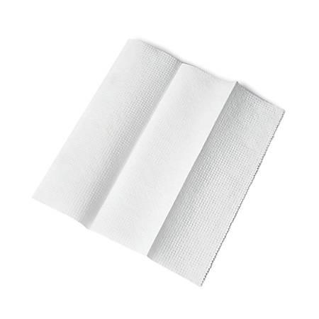 Medline Green Tree® Basics Multi-Fold Paper Towels, White, 250 Towels Per Pack, Case Of 16 Packs