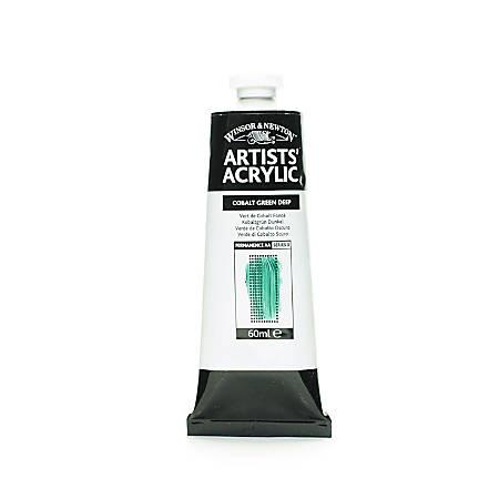 Winsor & Newton Professional Acrylic Colors, 60 mL, Cobalt Green Deep, 185, Pack Of 2