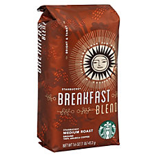Starbucks Breakfast Blend Ground Coffee 1