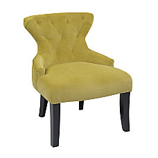Ave Six Curves Hourglass Accent Chair