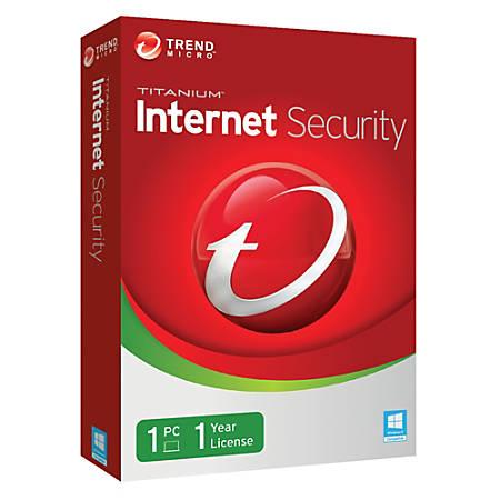 TITANIUM Internet Security 2014 1 User , Download Version