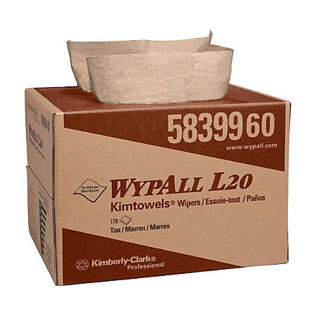 Wypall L20 Wipers, Natural