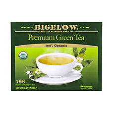 Bigelow Tea Bags Premium Organic Green