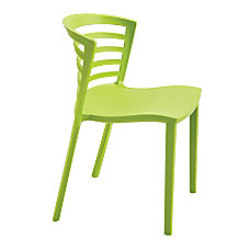 Safco Entourage Stacking Chairs Green Set