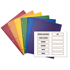 Office Depot Brand 2 Pocket Poly