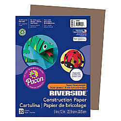 Riverside Groundwood 100percent Recycled Construction Paper