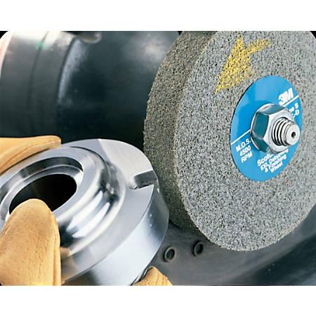 "3M™ Scotch-Brite™ EXL Deburring Wheel, 9-SF, 8""H x 1""W x 3""D, Gray"