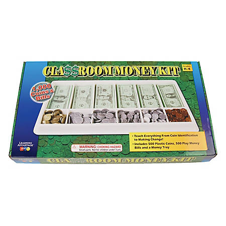 Learning Advantage™ 1,000-Piece Play Money Kit