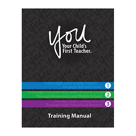 YOU: Your Child's First Teacher, Training Manual, English