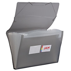 JAM Paper Legal Size Expanding File