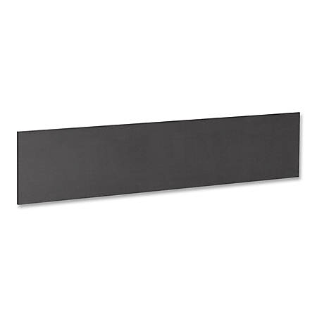 "Lorell® Essentials Series Hutch Tack Board, 64 1/2""W, Black"