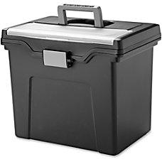 IRIS Portable Letter size File Box
