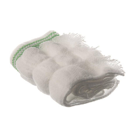 Medline Flat-Front Mesh Pant Kits, X-Large, White, Pack Of 300