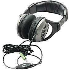 Inland 35mm Stereo Headphones Stereo Black
