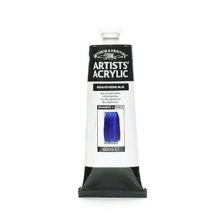 Winsor & Newton Professional Acrylic Colors, 60 mL, Indanthrene Blue, 321, Pack Of 2