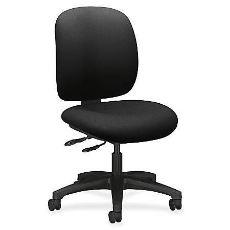 "HON® ComforTask Chair, 24""W x 34-3/8""D x 38-3/8""H , Black"