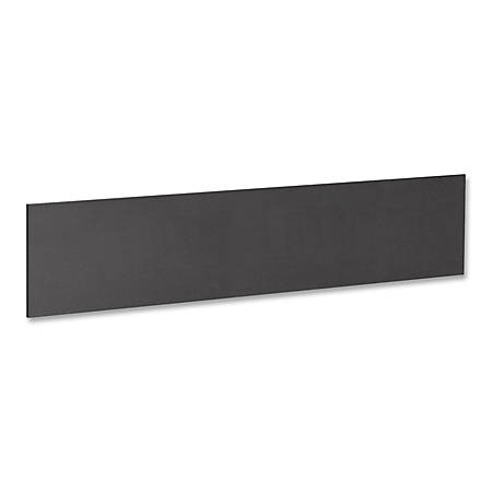 "Lorell® Essentials Series Hutch Tack Board, 45""W, Black"