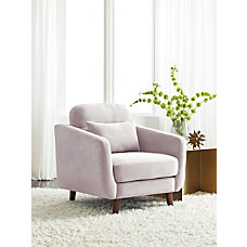 Serta Sierra Collection Arm Chair IvoryChestnut