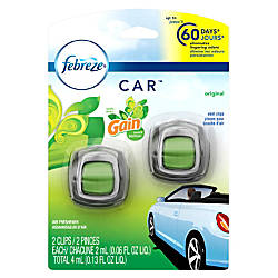 Febreze CAR Air Fresheners Gain Original