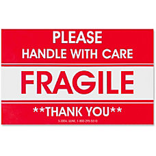 Tatco TCO10951 FragileHandle With Care Shipping