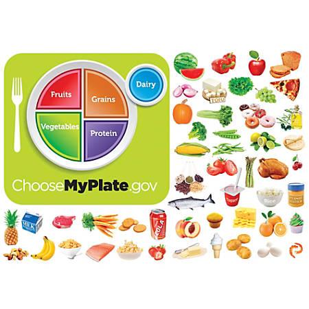Little Folk Visuals MyPlate Flannel Board Set, Multicolor, Grades Pre-K - 5