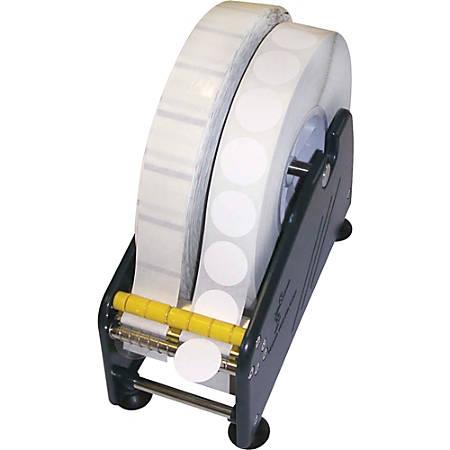 "Tatco Adhesive Back Mailing Seals, TCO36100, 1"" Diameter, 3"" Core, Translucent, 5,000 Per Roll"