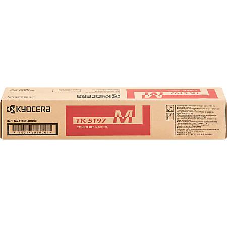 Kyocera TK 5197M - Magenta - original - toner cartridge - for TASKalfa 306ci
