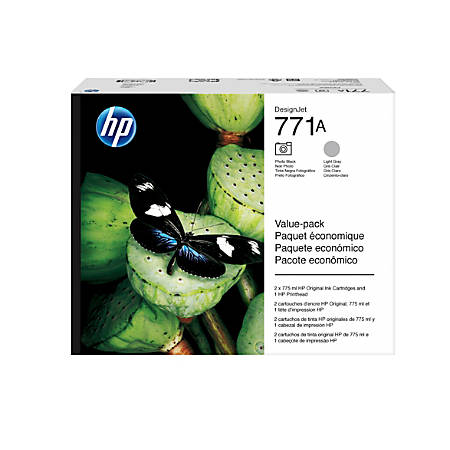 HP 771 P2V50A Black/Gray Printhead
