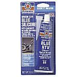#6 SENSOR SAFE BLUE RTV SILICONE GASKET MAKER, 3 O