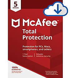 McAfee Total Protection For 5 PCApple