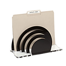 Realspace Acrylic File Sorter 7 x
