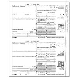 ComplyRight 1099 B InkjetLaser Tax Forms