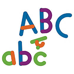 Learning Resources Magnetic Giant Letters Set