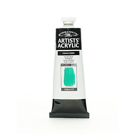 Winsor & Newton Professional Acrylic Colors, 60 mL, Cobalt Green, 184