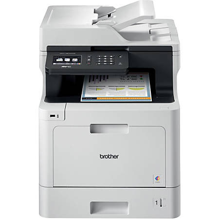 Brother MFC-L8610CDW Business Color Laser All-in-One Printer, Scanner, Copier, Fax