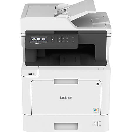 Brother® MFC-L8610CDW Business Wireless Color Laser All-in-One Printer, Scanner, Copier, Fax